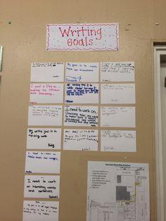 Writing goals!