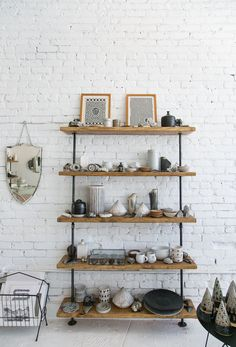 I need shelves like this to keep all my orchids on in the entertainment room.