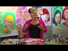 Drawing Expressions workshop with Jane Davenport - YouTube