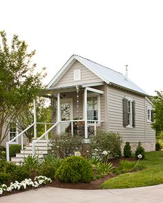 Small guest houses on pinterest hamptons decor guest for House plans with guest houses southern living
