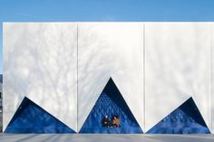 DUS Architects have recently completed a facade for the temporary EU Building, for the Dutch EU Presidency 2016.