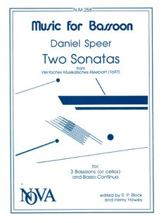 Two Sonatas by Speer