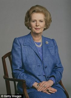 Dame Thatcher.  Role model for towering strength and clarity of purpose!  Rage On Dame Thatcher!
