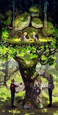 Tags: Anime, Axis Powers: Hetalia, Sweden, Finland, Nordic Countries, Sayuri1314