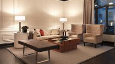 The understated elegance of the Living Room, The Bentley Suite at the St.Regis, New York