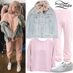 Find out where your favorite celebrities buy their clothes and how you can get their looks for less. Kylie Jenner Boyfriend, Ropa Kylie Jenner, Kylie Jenner Workout, Looks Kylie Jenner, Kylie Jenner Outfits, Kylie Jenner Style, Lazy Day Outfits, Chill Outfits, Cute Outfits