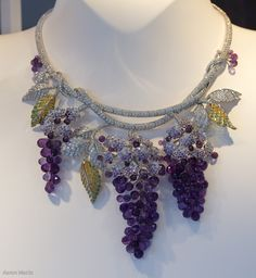 Van Cleef & Arpels - Grape-Bunch Necklace