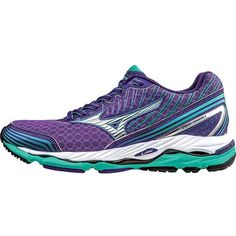 Mizuno Women's Wave Paradox 2 Shoe ($135) ❤ liked on Polyvore featuring shoes, athletic shoes, wrap around shoes, print shoes, mizuno footwear, patterned shoes and flexible shoes