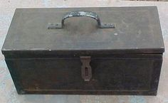 Steel toolbox Metal Tool Box, Metal Detector, Toolbox, Metals, Storage Chest, Steel, Google, Image, Home Decor