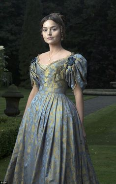 Sneak peak: Jenna Coleman dons full regal costume to play a young Queen Victoria in upcoming eight-part ITV drama, Victoria