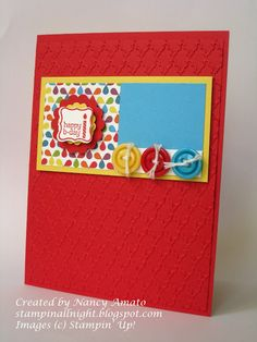 SAB 2013 - Stampin' All Night  Sale-A-Bration Petite Curly Label punch and Pretty Petites stamp set