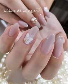 63 Most Eye-Catching Wedding Nails Inspirational Design for Pretty Bride ❀ - Page 12 of 63 - Diaror Diary Natural Nail Designs, Colorful Nail Designs, Nail Art Designs, Cute Nails, Pretty Nails, Nails Factory, Lcn Nails, Nails Studio, Wedding Nails Design