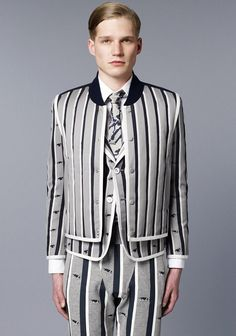 Simplicity  Thom Browne Men Fall/Winter 2014 Follow:http://its-king-of-fashion.tumblr.com/ DONT FORGET TO REBLOG 326