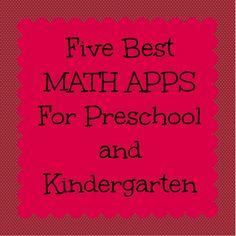 Best Math Apps for Pre-K & K
