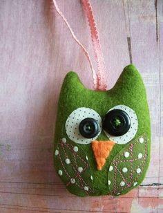 Owl ornament!