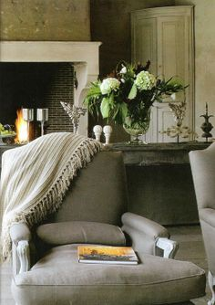 Vintage and green accents, now that is what I'm talking about