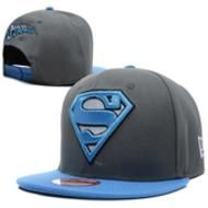 Casquette Superman New Era Snapback Gris Bleu Casquette New Era Pas Cher 4ff3ee55e909