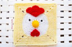 Wiam's Crafts: The Year of The Chicken Granny Square