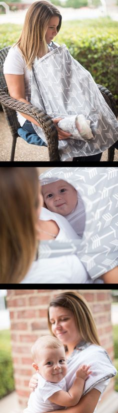 Top-rated Nursing Cover with Built-in Burp Cloth on https://www.amazon.com/Nursing-Breastfeeding-Matching-Peekaboo-OpeningTM/dp/B01F45OJ3O?m=A3PYMCL43VTCQ2 Perfect for breastfeeding moms. Comes with a free carrying clutch and free shipping.