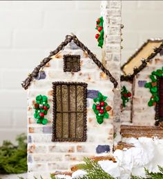 One of my favorite things about building custom gingerbread homes is that the real home rarely lives on a flat lot. Gingerbread House Designs, Gingerbread Decorations, Christmas Gingerbread House, Gingerbread Cookies, Christmas Cookies, Gingerbread Houses, Gingerbread Frosting, Holiday Decorations, Christmas Events