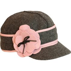 Stormy Kromer Mercantile Petal Pusher Cap ($45) ❤ liked on Polyvore featuring accessories, hats, 6 panel cap, 6 panel hat, stormy kromer hat, six panel hat and stormy kromer