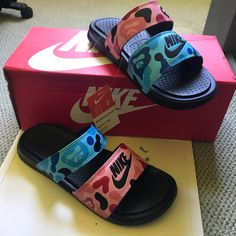Shop Men's Nike size Various Sandals & Flip-Flops at a discounted price at Poshmark.