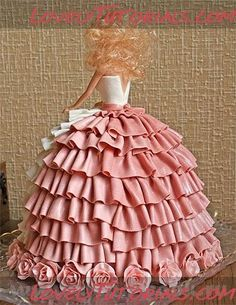 Идеи Барби-куклы тортов -Barbie doll cake ideas - Мастер-классы по украшению тортов Cake Decorating Tutorials (How To's) Tortas Paso a Paso