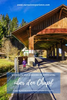Wandern im Emmental: von Eggiwil über den Chapf Hiking With Kids, Go Hiking, Hiking Tips, Travel With Kids, Asphalt Road, Der Bus, Best Hikes, Nice View, Where To Go