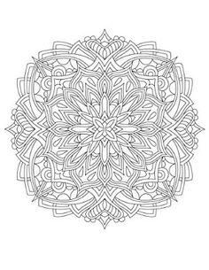 50 Original Hand Drawn Mandala Designs - Mandalas To Color Volume 1 by ColorIt - Anti Stress Adult Coloring Book - Hardback, Spiral Binding, Blotter, Acid Free Paper