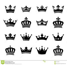 collection-crown-silhouette-symbols-vol-set-vector-fully-editable-51612792.jpg (1300×1262)