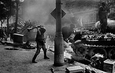 Koudelka - Invasion 68 Prague Spring, Dark Landscape, Visit Prague, Prague Czech Republic, French Photographers, First Photograph, Magnum Photos, My Heritage, Black And White Photography