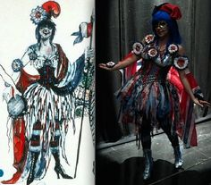 "Phantom of the Opera, ""Gaulousie"" Masquerade costume, (Maria Bjornson)"