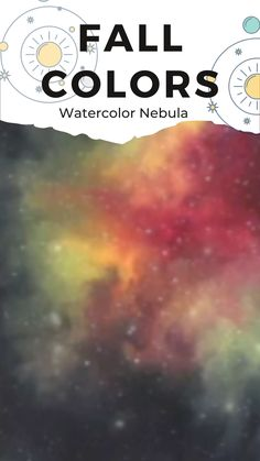 Visit my Skillshare Classes if you want to create your own Watercolor Galaxies. Watercolor Galaxy, Galaxies, Art Ideas, Teaching, Yellow, Create, Watercolor Painting, Teaching Manners, Learning
