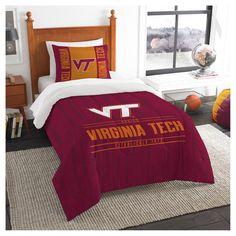 NCAA Northwest Modern Take Twin Comforter Set Virginia Tech Hokies - 64 x 86