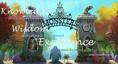 Disney/Pixar's Monsters University Concept Art. My edit.