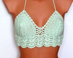 Original crochet Bikini traje de baño de las mujeres por Spillija