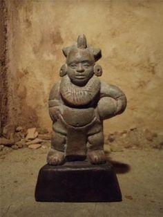 Aztec Mayan Statue Replica of A Ball Player Pre Columbian Origins of Football | eBay