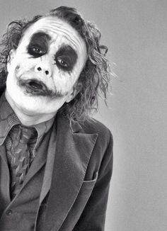 """The Joker"" Heath Ledger"