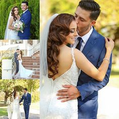 #TBT to this gorgeous Los Coyotes Country Club bride and groom! Sandra Flores Photography captured every amazing detail, just look at those lashes!