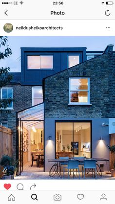 Completed in 2016 in London, United Kingdom. Images by Agnese Sanvito, Tim Crocker . Neil Dusheiko Architects have completed a beautiful and very personal renovation of a Victorian terraced house in Stoke Newington. The house was. Glass Extension, House Extension Design, Roof Extension, House Design, Side Return Extension, Extension Ideas, Terraced House, Style At Home, Architecture Design