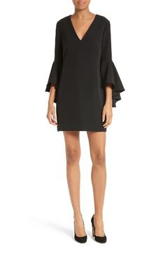 Free shipping and returns on Milly Nicole Bell Sleeve Dress at Nordstrom.com. Pre-order this style today! Add to Shopping Bag to view approximate ship date. You'll be charged only when your item ships.Go ahead, talk with your hands. The fluttery drama of these sleeves is all the punctuation you need with this shift of silky Italian cady.
