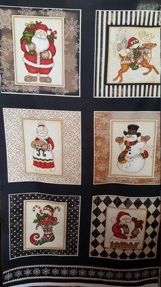 RJR Holly Jolly Christmas Fabric BTY//BTHY Dan Morris Cookies Gingerbread Border