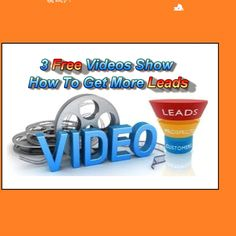 Free Video shows how to get more leads to your online business see here..http://goo.gl/sn9ydr take a look at these 3 new video training systems that show how to get more mlm leads to your online business and offers #leads