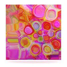 24 x 36 Kess InHouse Louise Machado Wooden Heart Luxe Rectangle Panel