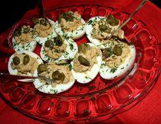 jajka z anchois