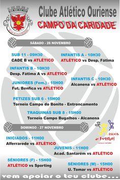 Futebol Formação: AGENDA