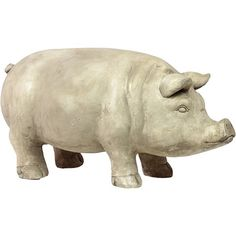 I pinned this Piedmont Pig Statue from the Gingerbury Home event at Joss and Main!