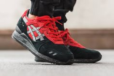 Asics Gel Lyte III Christmas Pack 'Bad Santa' (by titolo) Buy from End Clothing / Allike / The Chimp Store / Frontrunner