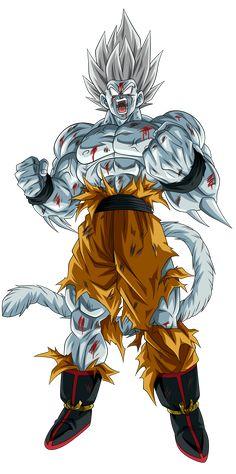 Goku Af, Son Goku, Epic Characters, Fantasy Characters, Ultra Super Saiyan, Saga Dragon Ball, Fantasy Character Design, Dark Fantasy Art, Illustrations