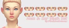 Image result for ts4cc nose blush